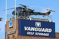 Westland Scout AH.1 XV123, British Army Air Corps Helicopter, Vanguard Self Storage, London, UK, 05 September 2019, Photo by Richard Goldschmidt