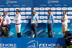 Verlooy Jos, BEL, Igor, Verlooy Axel, BEL, Smolders Harrie, NED<br /> World Equestrian Games - Tryon 2018<br /> © Hippo Foto - Dirk Caremans<br /> 19/09/2018