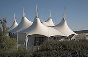 Roof, Butlins holiday camp, Somerset, England
