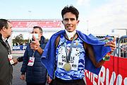 Foto Massimo Paolone/LaPresse <br /> 17 ottobre 2021 Roma, Italia <br /> sport <br /> Roma Ostia Half Marathon 2021<br /> Nella foto: il secondo classificato della gara Daniele Meucci<br /> <br /> Photo Massimo Paolone/LaPresse <br /> October 17, 2021 Rome, Italy <br /> sport <br /> Roma Ostia Half Marathon 2021 <br /> In the pic: the 2nd classified of the race Daniele Meucci