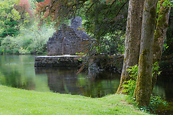 Monk's fishing cottage at Cong Abbey, Cong, County Mayo, Ireland