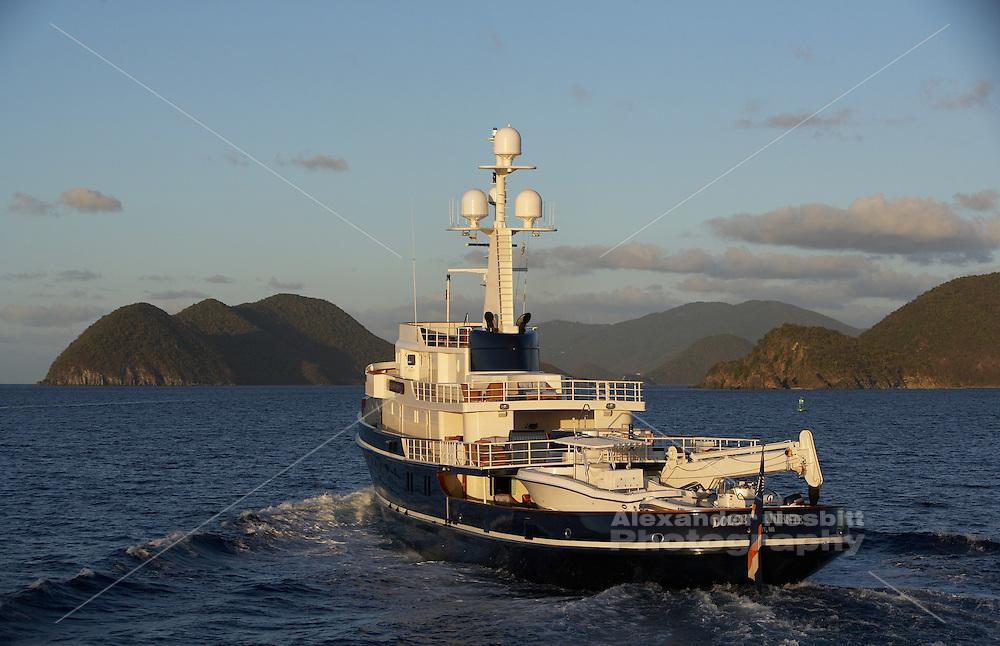 Seawolf/Dolce far Niente shot off Virgin Gorda, BVI