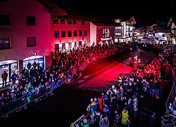 05.12.2017, Kaprun, AUT, Pinzgauer Krampustage im Bild Übersicht des Krampusumzugs // Overview of  a Krampus show. Krampus is a mythical creature that, according to legend, accompanies Saint Nicholas during the festive season. Instead of giving gifts to good children, he punishes the bad ones, Kaprun, Austria on 2017/12/05. EXPA Pictures © 2017, PhotoCredit: EXPA/ JFK