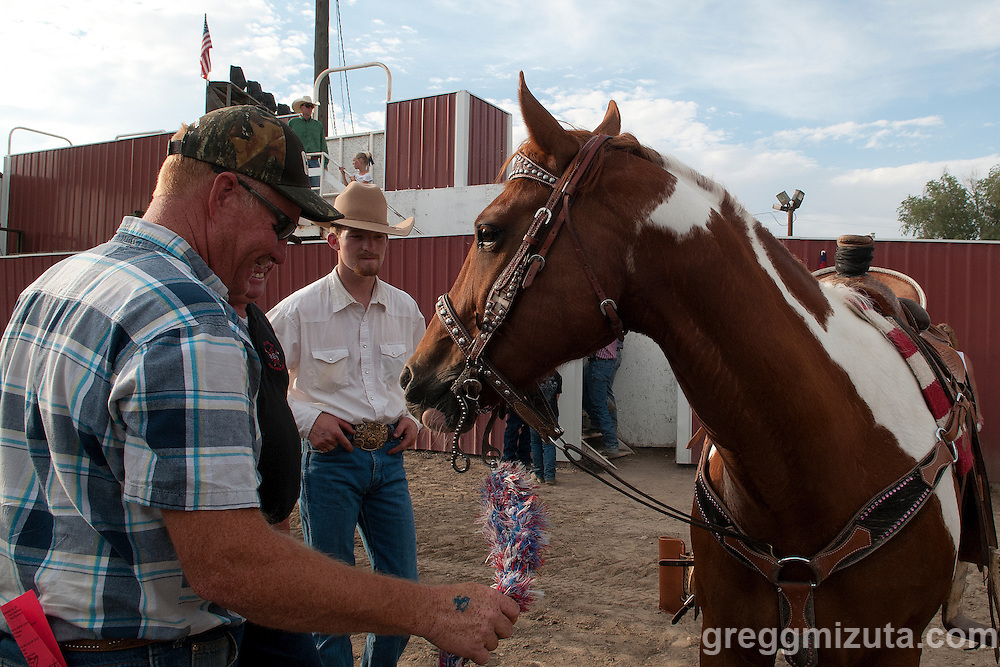 Dan Fulwyler. Vale 4th of July Rodeo, Vale Rodeo Arena, Vale, Oregon, July 4, 2015.