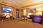 Cosmopolitan of Las Vegas  luxury resort casino and hotel on the west side of the Las Vegas Strip, Las Vegas, Nevada Interior of the wraparound suite