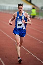 Sheffield Half Marathon Winner heads for the finish line Sunday Morning..12 May 2013.Image © Paul David Drabble