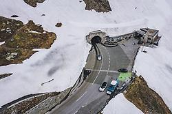 THEMENBILD - Verkehr am Hochtor. Die Hochalpenstrasse verbindet die beiden Bundeslaender Salzburg und Kaernten und ist als Erlebnisstrasse vorrangig von touristischer Bedeutung, aufgenommen am 11. Juni 2020 in Heiligenblut, Österreich // Traffic at the Hochtor. The High Alpine Road connects the two provinces of Salzburg and Carinthia and is as an adventure road priority of tourist interest, Heiligenblut, Austria on 2020/06/11. EXPA Pictures © 2020, PhotoCredit: EXPA/ JFK