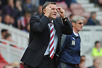 Football - Championship -  Middlesbrough vs. Coventry City<br /> frustration for Tony Mowbray (Middlesbrough manager) at The Riverside.
