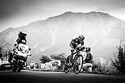 Contador during time trial TDF 2013