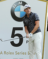 Golf - 2019 BMW PGA Championship - Thursday, First Round<br /> <br /> Matt Wallace of England tees off at the 5th hole, at the West Course, Wentworth Golf Club.<br /> <br /> COLORSPORT/ANDREW COWIE