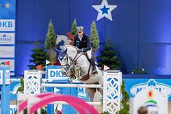 WILL David (GER), Primus Vom Neumuehler Hof<br /> München - Munich Indoors 2019<br /> CSI4* - Preis von Bayerns Pferde Zucht+Sport (Mittlere Tour)<br /> Springprüfung nach Fehlern und Zeit, international<br /> Höhe: 1.45m<br /> 22. November 2019<br /> © www.sportfotos-lafrentz.de/Stefan Lafrentz