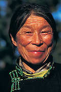 Tsaatan woman<br /> Nomadic tribe with +-200 individuals left who still live in teepees<br /> Taiga Forest<br /> Northern Mongolia