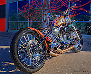 This 2007 Jesse Rooke Bobber was sitting in front of Southside Choppers in St. Petersburg.