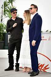 """""""Once Upon A Time In Hollywood"""" Photocall - The 72nd Annual Cannes Film Festival. 22 May 2019 Pictured: Brad Pitt, Margot Robbie and Leonardo DiCaprio. Photo credit: Daniele Cifalà / MEGA TheMegaAgency.com +1 888 505 6342"""