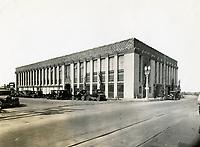 1927 Hollywood Paper Box Co. on SW corner of Santa Monica Blvd. & La Brea Ave.