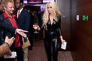 MIKAEL ERLANDSSON; JENNY RADENKVIST, The London Bar and Club awards. Intercontinental Hotel. Park Lane, London. 6 June 2011. <br /> <br />  , -DO NOT ARCHIVE-© Copyright Photograph by Dafydd Jones. 248 Clapham Rd. London SW9 0PZ. Tel 0207 820 0771. www.dafjones.com.