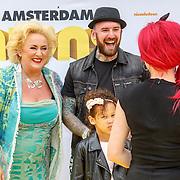 NLD/Amsterdam/20150628 - Premiere Minions, Karin Bloemen en Ben Saunders