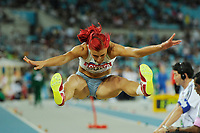 ATHLETICS - IAAF WORLD CHAMPIONSHIPS 2011 - DAEGU (KOR) - DAY 1 - 27/08/2011 - PHOTO : STEPHANE KEMPINAIRE / KMSP / DPPI - <br /> LONG JUMP - WOMEN - QUALIFICATION - NINA KOLARIC (SLO)