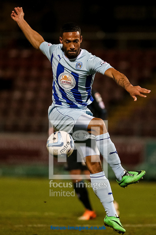 Callum Wilson of Coventry City during the Sky Bet League 1 match at Sixfields Stadium, Northampton<br /> Picture by Andy Kearns/Focus Images Ltd 0781 864 4264<br /> 26/03/2014