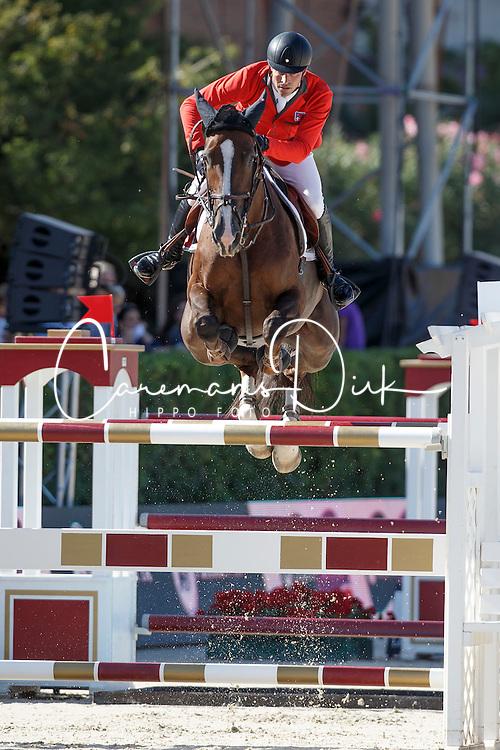 Duguet Romain, (FRA), Quorida de Treho <br /> First Round<br /> Furusiyya FEI Nations Cup Jumping Final - Barcelona 2015<br /> © Dirk Caremans<br /> 24/09/15