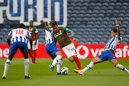 Marcelo Hermes of Maritimo in action during the Portuguese League (Liga NOS) match between FC Porto and Maritimo at Estadio do Dragao, Porto, Portugal on 3 October 2020.
