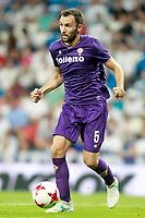 ACF Fiorentina's Milan Badelj during Santiago Bernabeu Trophy. August 23,2017. (ALTERPHOTOS/Acero)
