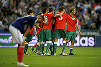 FOOTBALL - UEFA EURO 2012 - QUALIFYING - GROUP D - FRANCE v BELARUS - 3/09/2010 - PHOTO JEAN MARIE HERVIO / DPPI - JOY BELARUS
