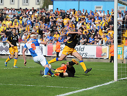 Bristol Rovers' Matt Harrold goes close to scoring - Photo mandatory by-line: Joe Meredith/JMP - Mobile: 07966 386802 03/05/2014 - SPORT - FOOTBALL - Bristol - Memorial Stadium - Bristol Rovers v Mansfield - Sky Bet League Two