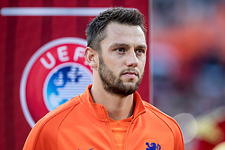 09.06.2017, De Kuip Stadium, Rotterdam, NED, FIFA WM 2018 Qualifikation, Niederlande vs Luxemburg, Gruppe A, im Bild Stefan de Vrij of Netherlands // Stefan de Vrij of Netherlands during the FIFA World Cup 2018, group A qualifying match between Netherlands and Luxemburg at the De Kuip Stadium in Rotterdam, Netherlands on 2017/06/09. EXPA Pictures © 2017, PhotoCredit: EXPA/ Focus Images/ Joep Joseph Leenen<br /> <br /> *****ATTENTION - for AUT, GER, FRA, ITA, SUI, POL, CRO, SLO only*****