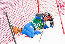 Florian Eisath of Italy during 1st run of Men's GiantSlalom race of FIS Alpine Ski World Cup 57th Vitranc Cup 2018, on March 3, 2018 in Kranjska Gora, Slovenia. Photo by Ziga Zupan / Sportida
