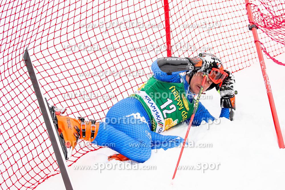 Florian Eisath of Italy during 1st run of Men's GiantSlalom race of FIS Alpine Ski World Cup 57th Vitranc Cup 2018, on March 3, 2018 in Kranjska Gora, Slovenia. Photo by Ziga Zupan / Sportida