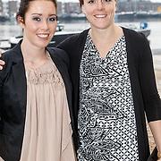 NLD/Amsterdam/20150324 - Schaatsgala 2014, Antoinette de Jong en Jorien ter Mors