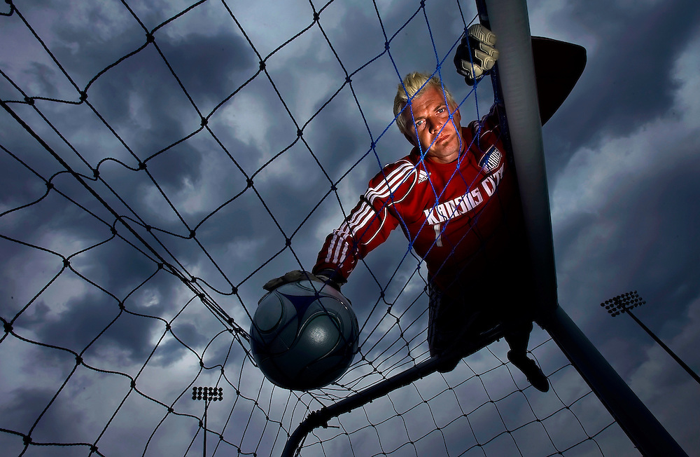 Kansas City Wizards goalkeeper Kevin Hartman will be guarding the goal again on Saturday for the Wizards home opener, as he was every minute of the past two seasons. With 12 years in the MLS, Hartman has recorded the third-most saves in MLS history and is tied for the league-lead in shutouts with 10. Hartman also holds the record as the MLS career leader in all-time wins for a goalkeeper with 138, along with the all-time leader in postseason minutes played (4,042), saves (155), shutouts (14) and wins (22).