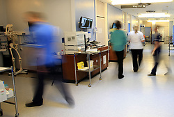 Embargoed to 0001 Friday April 28 File photo dated 3/10/2014 of a hospital ward. Morale among NHS medics and care workers from the EU has been hit by the uncertainty of Brexit, the Health Select Committee has warned.
