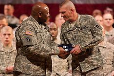 119th Combat Sustainment Support Battalion deployment ceremony  - December 18, 2010