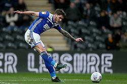 Birmingham City's Connor Mahoney shoots towards goal