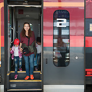 Afternoon, Wednesday 16th of September 2015. The train stops at Salzburg and the conductor tells everyone to alight. The German border is temporarily closed but Aysha doesn't know that yet.