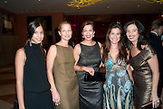 MARINA TESTINO; AMBER TESTINO; ELENA TESTINO; TAMARA ECKHARDT-TESTINO; CARLA TESTINO; Mario Testino exhibition.  Hosted by Vanity Fair Spain and Lancome. Thyssen-Bornemisza Museum (Paseo del Prado 8, Madrid.20 September 2010.  -DO NOT ARCHIVE-© Copyright Photograph by Dafydd Jones. 248 Clapham Rd. London SW9 0PZ. Tel 0207 820 0771. www.dafjones.com.