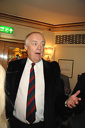 SIR TIM RICE at a tribute lunch for Elaine Paige hosted by the Lady Taverners at The Dorchester, Park Lane, London on 13th November 2007.<br />