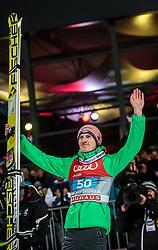 06.01.2016, Paul Ausserleitner Schanze, Bischofshofen, AUT, FIS Weltcup Ski Sprung, Vierschanzentournee, Bischofshofen, XXX, im Bild Severin Freund (GER) // Severin Freund of Germany celebrate his 2nd place on overall podium of the Four Hills Tournament of FIS Ski Jumping World Cup at the Paul Ausserleitner Schanze in Bischofshofen, Austria on 2016/01/06. EXPA Pictures © 2016, PhotoCredit: EXPA/ JFK
