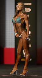 Sept.16, 2016 - Las Vegas, Nevada, U.S. -  MARGET GNARR competes in the Bikini Olympia contest during Joe Weider's Olympia Fitness and Performance Weekend.(Credit Image: © Brian Cahn via ZUMA Wire)