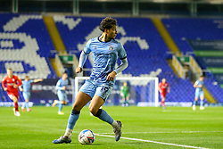 Tyler Walker of Coventry City looks back into the penalty area for attacking options - Mandatory by-line: Nick Browning/JMP - 20/11/2020 - FOOTBALL - St Andrews - Birmingham, England - Coventry City v Birmingham City - Sky Bet Championship