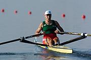 20040814 Olympic Games Athens Greece [Rowing]<br /> Photo  Peter Spurrier <br /> BLR W1X Karsten<br /> email;  images@intersport-images.com<br /> Tel +44 7973 819 551<br /> T<br /> <br /> <br /> [Mandatory Credit Peter Spurrier/ Intersport Images]
