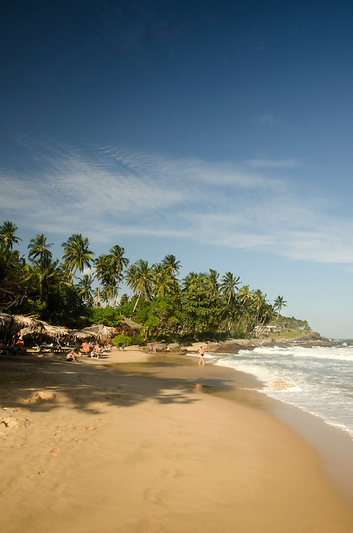Goyambokka beach near Tangalle, Sri Lanka