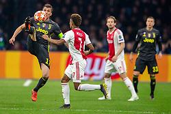 10-04-2019 NED: Champions League AFC Ajax - Juventus,  Amsterdam<br /> Round of 8, 1st leg / Ajax plays the first match 1-1 against Juventus during the UEFA Champions League first leg quarter-final football match / Mario Mandzukic #17 of Juventus