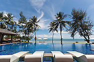 Swimming pool at Baan Kilee, luxury, private villa located on Lipa Noi Beach, Koh Samui, Thailand