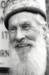 Portrait of an elderly man, Nottingham, UK 1991