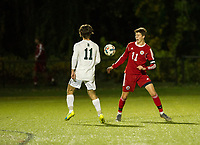 St Paul's School varsity boys soccer.  ©2019 Karen Bobotas Photographer