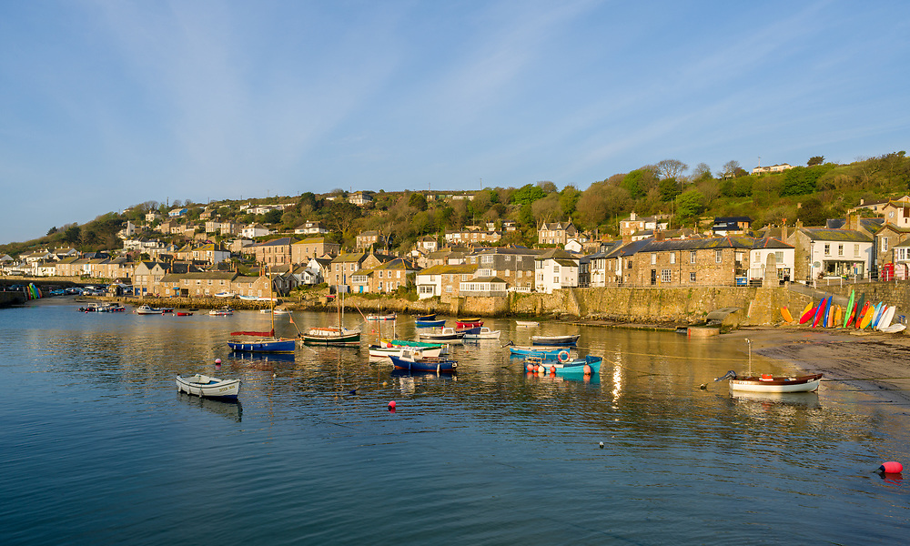 Early morning in Mousehole.