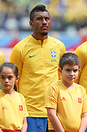 Paulinho of Brazil during the 2018 FIFA World Cup Russia, Group E football match between Brazil and Costa Rica on June 22, 2018 at Saint Petersburg Stadium in Saint Petersburg, Russia - Photo Thiago Bernardes / FramePhoto / ProSportsImages / DPPI